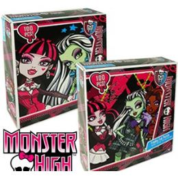 36 Units of Monster High Jigsaw Puzzles - Puzzles