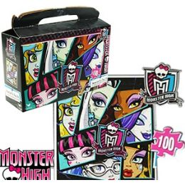 24 Units of MONSTER HIGH GIFT BOX PUZZLES - Puzzles