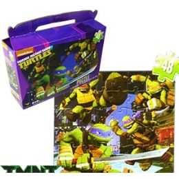24 Units of TMNT GIFT BOX PUZZLES - Puzzles