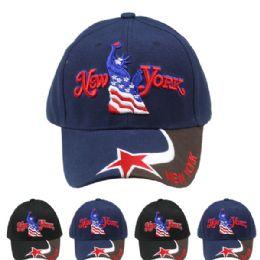 24 Units of New York Baseball Cap - Baseball Caps & Snap Backs