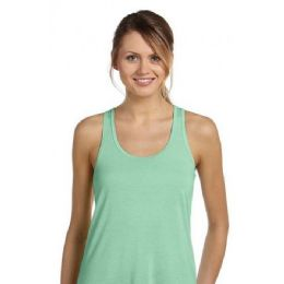 48 Units of Ladies Mint Racer Back Tank Tops - Womens Active Wear