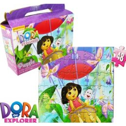 24 Units of Dora The Explorer Gift Box Puzzle - Puzzles