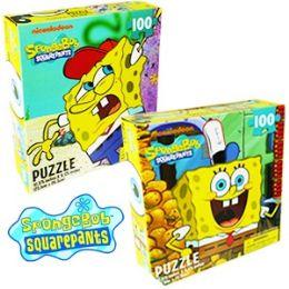 36 Units of SPONGEBOB SQUAREPANTS JIGSAW PUZZLES - Puzzles