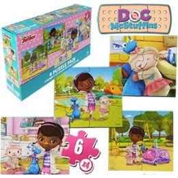 24 Units of DISNEY'S DOC MCSTUFFINS JIGSAW PUZZLES - Puzzles