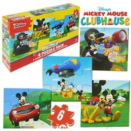 24 Units of DISNEY'S MICKEY'S CLUBHOUSE PUZZLES - Puzzles