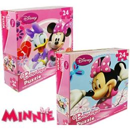 36 Units of DISNEY'S MINNIE BOWTIQUE JIGSAW PUZZLES. - Puzzles