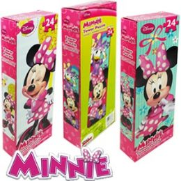36 Units of Disney's Minnie Bowtique Tower Jigsaw Puzzles - Puzzles