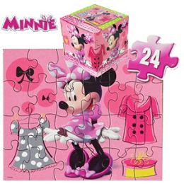 24 Units of Disney's Minnie's BoW-Tiquecube Jigsaw Puzzles. - Puzzles