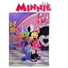 36 Units of Disney's Minnie's BoW-Tique Foil Puzzles - Puzzles