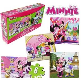 36 Units of Disney's Minnie's BoW-Tique Puzzles - Puzzles