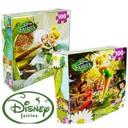 36 Units of Disney's Fairies Jigsaw Puzzles - Puzzles