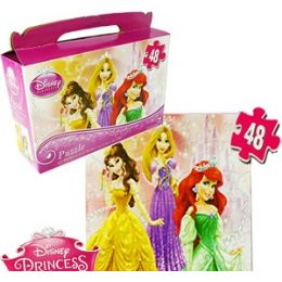 24 Units of Disney's Princesses Gift Box Puzzles. - Puzzles