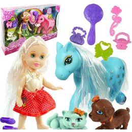 12 Units of MY PRETTY ELSIE AND HER PETS PLAYSETS - Dolls