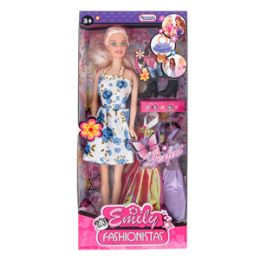 8 Units of 2 PIECE ANDREA AND FRIENDS DOLLS. - Dolls