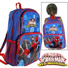 "12 Units of SPIDERMAN CARGO BACKPACKS. - Backpacks 16"""