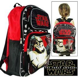 "16 Units of STAR WARS CARGO BACKPACKS - Backpacks 16"""