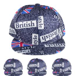 24 Units of British Style Baseball Cap - Baseball Caps & Snap Backs
