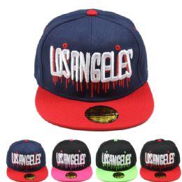 24 Units of Los Angeles Snapback - Baseball Caps & Snap Backs