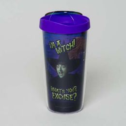 30 Units of Tumbler Insulated Acrylic 16oz W/lid I'm A Witch - Coffee Mugs