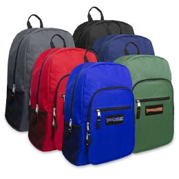 "24 Units of Trailmaker Deluxe 19 Inch Backpack - 6 Colors - Backpacks 18"" or Larger"