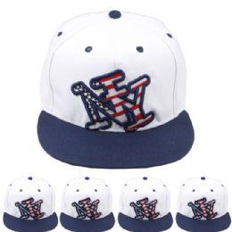 24 Units of New York Snapback Baseball - Baseball Caps & Snap Backs