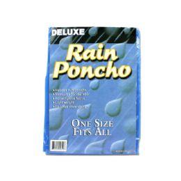 72 Units of Hooded Rain Poncho - Umbrellas & Rain Gear