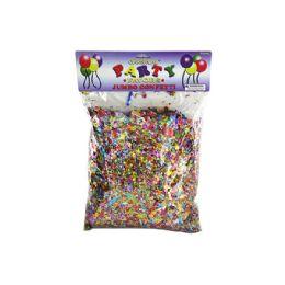 72 Units of Jumbo Metallic Confetti Pack - Streamers & Confetti