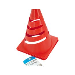 36 Units of Sterling Brand Orange Mini Safety Cone Set - Auto Accessories