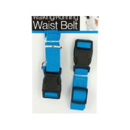 24 Units of Hands Free Dog Walking & Running Waist Belt - Pet Collars and Leashes