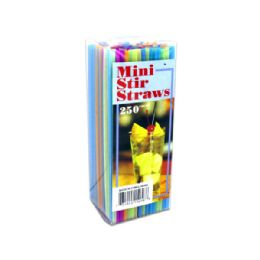 72 Units of Mini Stir Straws - Disposable Cups