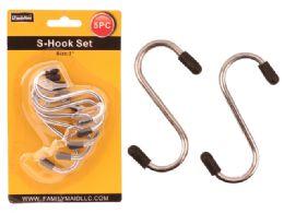 """96 Units of S Hooks 5pc/set. 2.75"""" L - Hooks"""