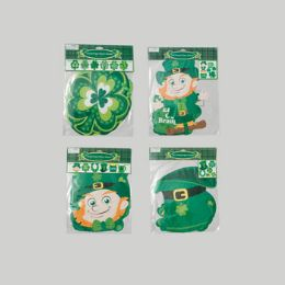 72 Units of Cutouts/banners St Patrick 4 ast 2each Jointed Banner/6 count Cutout St Pat Pbh - St. Patricks