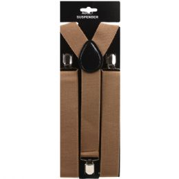 48 Units of Brown Suspender (1.5 Inches Wide) - Suspenders