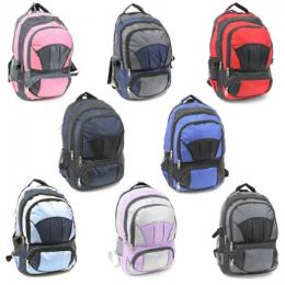 "24 Units of LARGE BACKPACK 18 INCH - Backpacks 18"" or Larger"