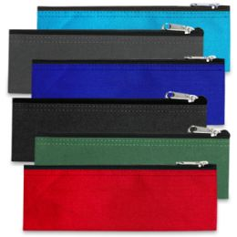 96 Units of PENCIL CASE - 6 COLORS - Pencil Boxes & Pouches