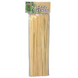 48 Units of 100 Piece Bamboo Skewer Stick - BBQ supplies