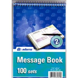 30 Units of Message Book By Adams - Dry Erase