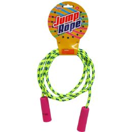 96 Units of Skipping Jump Rope W/peg Able Header - Jump Ropes