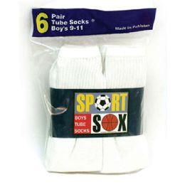 20 Units of Boy's Tube Socks - Boys Ankle Sock
