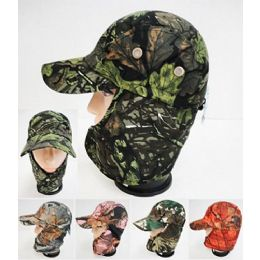 48 Units of Wholesale Camo Legionnaires Hat With Breather Hole - Hunting Caps