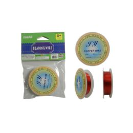 144 Units of Craft Beading Wire - Craft Tools