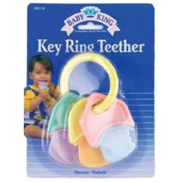 144 Units of Hard & Soft Keys Teethers - Baby Toys