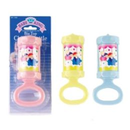72 Units of Big Top Chime Rattle - Baby Toys
