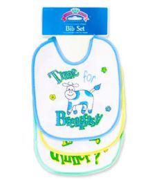 72 Units of B-L-D BIB - Baby Accessories