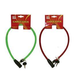 72 Units of Bike Cable Lock - Biking