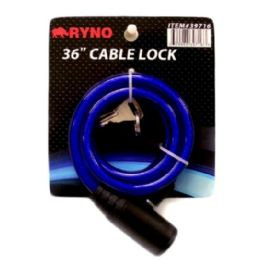 48 Units of 36 Inch Cable Lock - Biking