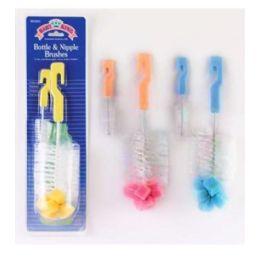 72 Units of Baby Bottle and Nipple Brush - Baby Utensils
