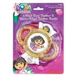 72 Units of Dora The Explorer Teeth Rattle - Baby Toys