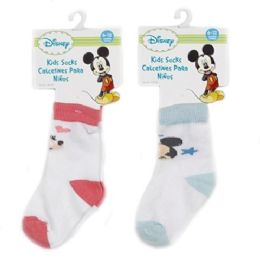 72 Units of DISNEY SOCKS - Baby Accessories