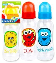 96 Units of Elmo 9 Oz Baby Bottle - Baby Bottles